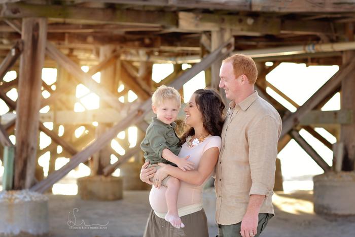 Tampa FL Beach Maternity Photographer